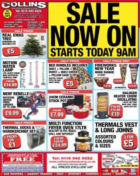 SALE NOW ON – Weekly Offers at Collins Cash and Carry
