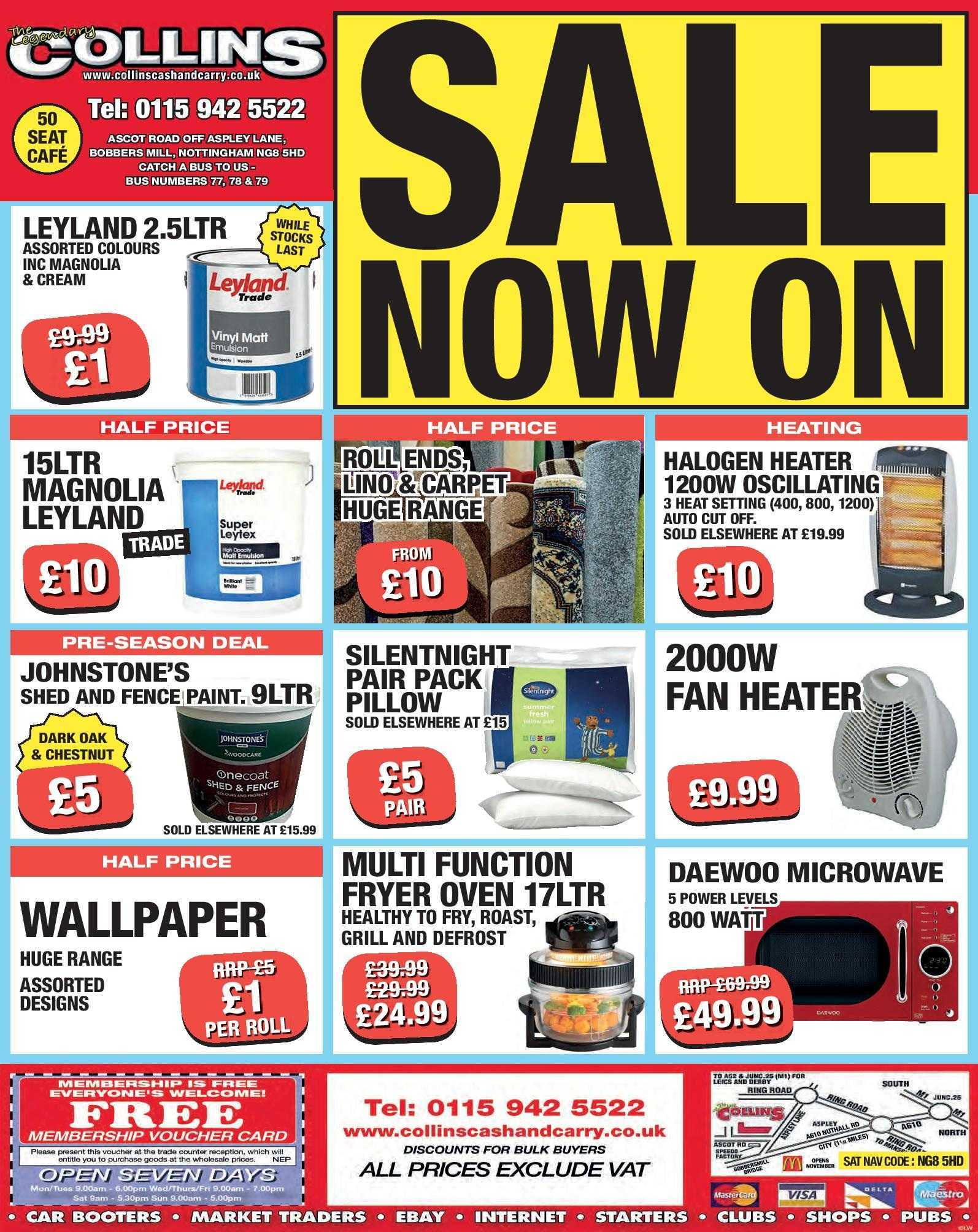 New Year, new… look – Weekly Offers at Collins Cash and Carry