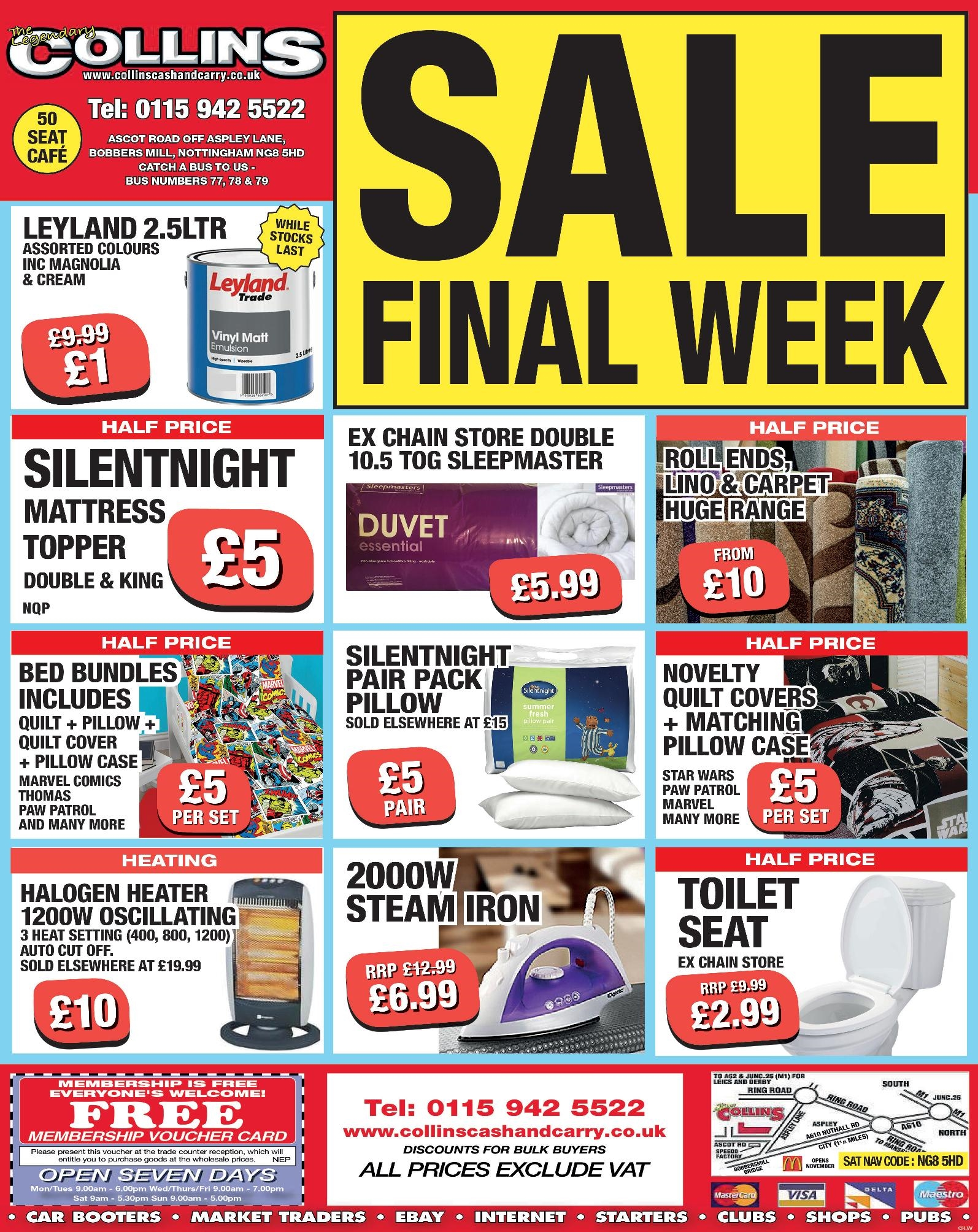 Cold Winter Nights – Weekly Offers at Collins Cash and Carry