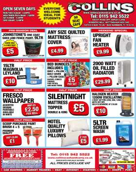 Feel The Heat collins cash and carry weekly offers small