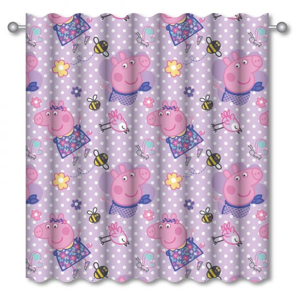 Peppa Pig Happy Curtains 72
